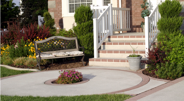 Concrete Color Design Concrete Services Sandy Utah